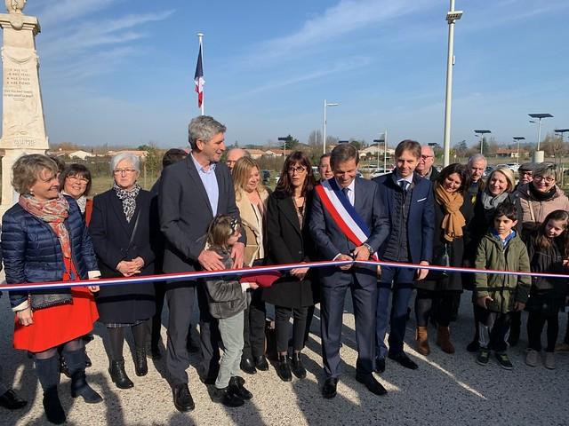 La rue Guy Saint-Martin inaugurée