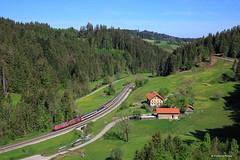 Allgäu (francoispobez) Tags: allgäu br218 deutsche bahn db eisenbahn intercity train zug railway railroad photography