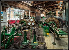 Steam engine_Museum of Science and Industry_Manchester_GB (ferdahejl) Tags: steamengine museumofscienceandindustry manchester gb dslr canondslr