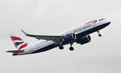 G-TTND British Airways Airbus A320-251N neo (ahisgett) Tags: ringway manchester man airliner