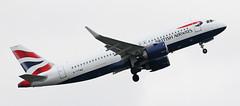 G-TTND British Airways Airbus A320-251N neo 3 (ahisgett) Tags: ringway manchester man airliner