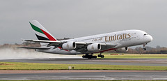 A6-EDJ Emirates Airbus A380-861 (ahisgett) Tags: ringway manchester man airliner