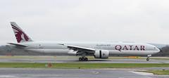 A7-BAJ Qatar Airways Boeing 777-3DZ(ER) 4 (ahisgett) Tags: ringway manchester man airliner