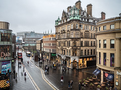 Newcastle, a city centre. (CWhatPhotos) Tags: cwhatphotos pictures camera photography flickr foto image artistic pics picture pic images photographs photograph fotos digital newcastle that four prime day olympus tyne have which contain upon thirds 17mm penf out around about