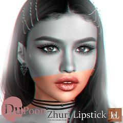 Zhuri Lipstick (₵Ⱨ₳₥ł) Tags: secondlife makeup lipstick applier lelutka evoultion hd