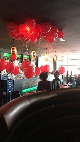 Heliumballonnen Valentijnsdag Sushi Goya Hoogvliet Rotterdam