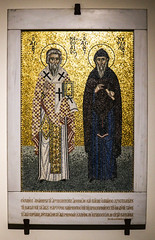 Ss Cyril and Methodius (Lawrence OP) Tags: cyrilmethodius saints mosaic apostles slavs bishops brothers sanclemente rome