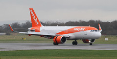 G-UZLF easyJet Airbus A320-251neo (ahisgett) Tags: ringway manchester man airliner a320 neo
