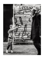 Wingardium Leviosa ⚡ (streetspirit13) Tags: bw bnwphotographer bnwdemands bnwphotography bnw bnwstreetphoto blackandwhite noiretblanc children candidstreetphotography capturestreet marseille streetphotographer streetpassionaward inthestreet