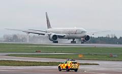 A7-BAJ Qatar Airways Boeing 777-3DZ(ER) 2 (ahisgett) Tags: ringway manchester man airliner