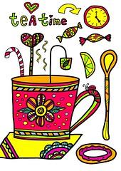tea time (irinasyrbul) Tags: tea time breakfast lemon english