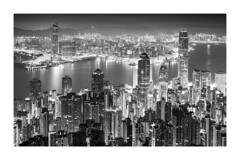 Towers in Hong Kong (www.hkchris.com) Tags: 4mins 45mm 50r 夜景 香港 blackandwithe blackwhite bw city contrast f28 fujifilm gfx gfx50r hk hongkong landscape morning night nightview pentax sunrise tower travel victoriaharbour victoriapeak