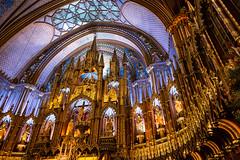 Golden Altar (www.julkastro.co) Tags: church iglesia canada montreal travel