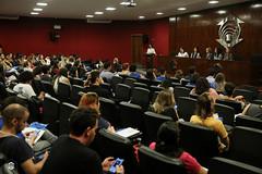 CRÉDITO - DA FOTO (ARES SOARES) - 1-18 (uniforcomunica) Tags: ii jornada de estudos sobre processos exclusão social palestra alunos auditorio universidade fortaleza
