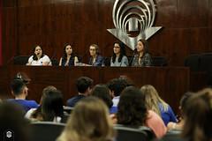 CRÉDITO - DA FOTO (ARES SOARES) - 1-17 (uniforcomunica) Tags: ii jornada de estudos sobre processos exclusão social palestra alunos auditorio universidade fortaleza