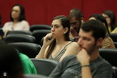 CRÉDITO - DA FOTO (ARES SOARES) - 1-7 (uniforcomunica) Tags: ii jornada de estudos sobre processos exclusão social palestra alunos auditorio universidade fortaleza