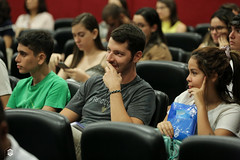 CRÉDITO - DA FOTO (ARES SOARES) - 1-6 (uniforcomunica) Tags: ii jornada de estudos sobre processos exclusão social palestra alunos auditorio universidade fortaleza
