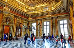 Musee de la Monnaie (albyn.davis) Tags: museum paris france europe people children windows colors golden interior architecture building travel