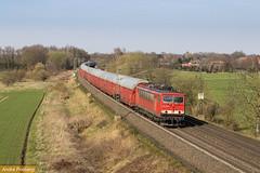 DB 155 178 mit Autotransporter (tsp-Photos) Tags: db deutsche bahn cargo zug eisenbahn güterzug trein train br155 155178 railroad gessel