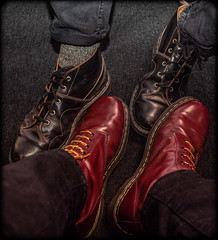 Docs. (CWhatPhotos) Tags: cwhatphotos flickr camera photographs photograph pics pictures pic picture image images foto fotos photography artistic that have which contain digital olympus four thirds penf 17mm prime newcastle upon tyne day out around about doc docs dms dm dr marten martens boots 1490 church black red wear airwair