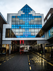 Blue Windows. (CWhatPhotos) Tags: cwhatphotos flickr camera photographs photograph pics pictures pic picture image images foto fotos photography artistic that have which contain digital olympus four thirds penf 17mm prime newcastle upon tyne day out around about blue architecture building windows window road street