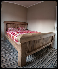 Chunky Bed. (CWhatPhotos) Tags: pictures camera flickr foto image pics picture pic images photographs photograph fotos cwhatphotos digital that four photography prime artistic olympus have which contain thirds penf around about upon wood wooden big bed rustic fine freddie furnishings jara chunky jarra sleep bedroom