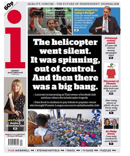 27th October 2018 - Leicester City Helicopter Crash - Daily 4