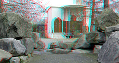 Rotstuin Blijdorp Zoo Rotterdam 3D (wim hoppenbrouwers) Tags: anaglyph stereo redcyan rotstuin blijdorp zoo rotterdam 3d sybold