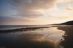 雲 (fumi*23) Tags: ilce7rm3 sony sel24f14gm emount 24mm fe24mmf14gm a7r3 cloud sky sea sunset miyazaki water reflection 空 雲 海 dusk 宮崎 ソニー