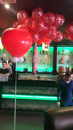 Cloudbuster Hart Valentijnsdag Sushi Goya Hoogvliet Rotterdam