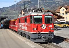 20191027 - 8364 - RhB - 618 - 0947 Landquart to Davos Platz - Schiers (Paul A Weston) Tags: rhb 618 0947landquarttodavosplatz schiers switzerland