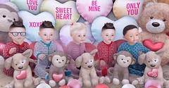 Happy Valentine's Day (R E N E G A D E - 5) Tags: zooby sl vr secondlife virtualreality family zoobyanimeshbabies happy valentinesday