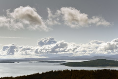 View from Mount Norman (Altitude 244m) North Pender Island, British Columbia  -  (Selected by GETTY IMAGES)