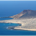 Vue sur La Graciosa (Lanzarote-Canaries)