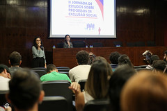 CRÉDITO - DA FOTO (ARES SOARES) - 1-21 (uniforcomunica) Tags: ii jornada de estudos sobre processos exclusão social palestra alunos auditorio universidade fortaleza