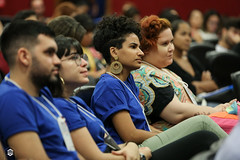 CRÉDITO - DA FOTO (ARES SOARES) - 1-14 (uniforcomunica) Tags: ii jornada de estudos sobre processos exclusão social palestra alunos auditorio universidade fortaleza
