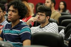 CRÉDITO - DA FOTO (ARES SOARES) - 1-9 (uniforcomunica) Tags: ii jornada de estudos sobre processos exclusão social palestra alunos auditorio universidade fortaleza