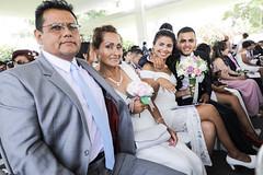 140220 Alcalde Jorge Muñoz en ceremonia de matrimonio comnitario en el Circuito Mágico de Las Aguas 018 (FOTOGRAFIA MML) Tags: parque aguas reserva circuito matrimonio comunitario alcalde muñoz bandera bicicleta gtu masivo selfie discurso febrero dia del amor valentin san