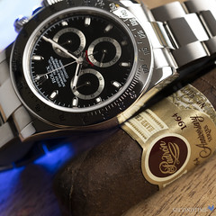 Cosmograph Daytona in Stainless Steel (G series, 2011 Production)_LS_2 (Secondtime_watches) Tags: rolex daytona 116520 steel steeldaytona blackdial secondtime