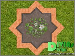 Star Shaped Cuddle Pond 04 (Dina LaVega) Tags: bento couple pond fountain