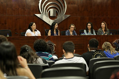 CRÉDITO - DA FOTO (ARES SOARES) - 1-3 (uniforcomunica) Tags: ii jornada de estudos sobre processos exclusão social palestra alunos auditorio universidade fortaleza