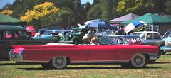 1964 Red Cadillac convertible (D70) Tags: 1964 red cadillac convertible morrinsville waikato newzealand