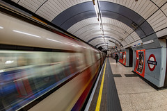 Underground Fishing... (Aleem Yousaf) Tags: underground fishing green park london sheku elgar music kanneh mason spotify blur motion train carriage mayfair station transport arch distorted lines indoor photography way out victoria picadilly morning people frame 16mm fish eye nikon d850 nikkor prime
