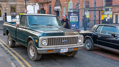 FXE30445-1 (Lawrence Holmes.) Tags: fuji xe3 xf27mm 27mm chevrolet pickup truck film filmscene netflix newyork thecrown manchester uk lawrenceholmes
