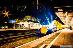 CardiffCentralRailStation2020.02.04-21 (Robert Mann MA Photography) Tags: cardiffcentralrailstation southglamorgan southwales train trains railway railways 2020 winter 4thfebruary2020 transportforwales tfwrail walesandborders class175 coradia class170 turbostar greatwesternrailway gwr class802 class800 iet intercityexpresstrain class166 networkerturboexpress class43 hst highspeedtrain crosscountrytrains nightscape nightscapes