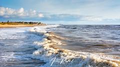 Southwold Surf [Explored] (Aron Radford Photography) Tags: blue southwold walberswick suffolk sea water coast beach surf wave pier lighthouse sand landscpe east anglia