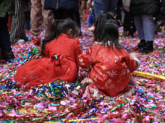Chinese New Year NYC 2020 (tai_lee2) Tags: celebration chinese lunar parade festival nyc happy streamers fireworks people person street banner flag balloon china red gold celebrate luck