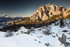 Passo Val Parola (Kevin.Grace) Tags: dolomites dolomiti winter landscape sunset snow mountain