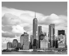 Manhattan, New York City (Nicky Thomas Photography) Tags: black white bw monochrome cityscape city america usa nyc photography amateur skyline skyscraper dramatic flickrsbest adventure travel