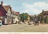 Victoria Square, Droitwich old postcard 1960s